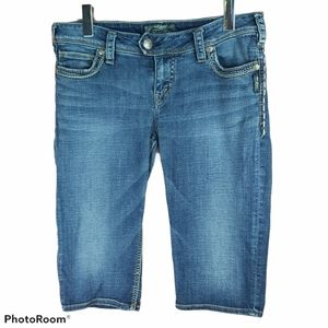 📣2/36$📣 SILVER Tuesday bermuda jeans shorts